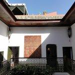 Outside Safran room