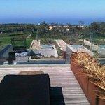 ma terrasse avec vue océan