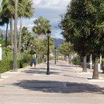 La promenade vers Puerto banus