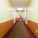Inside corridor upstairs