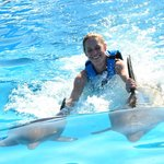 Riding the dorsal fins