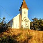 Church in Historic Petrolia