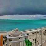 Panoramic view of the penthouse deck - Suite 701