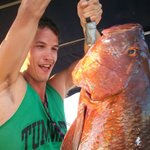 Great fishing on Second Wind Sailing