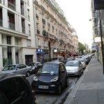 Вид Париж