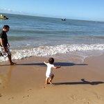 Mar calmo para crianças