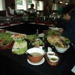 Mesa das refeições