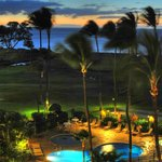 Evening view from #603 Kauhale Makai