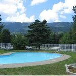 One of our two outdoor pools