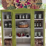 Try our Cypriot jams, preserves, herbs, olive oil