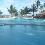 Vista Mar na área das piscinas.