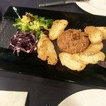 Tartar steak.... muuuy bueno