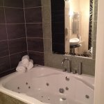 Jacuzzi in superior room!