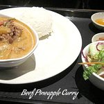 beef pineapple curry