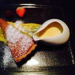 lemon tart-so yummy!