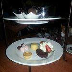 Dessert Taste Plate for Two