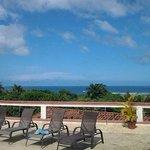View from Vista Villas pool area