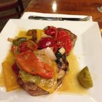 pork chops with sweet and hot peppers
