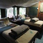 My idea of camping!