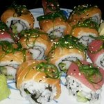 their sushi! i mean who wouldnt want to eat this!?