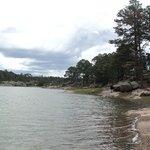 lago de arareko estaba por llover