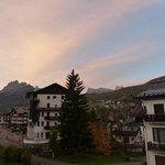 Amanhecer perfeito em Cortina!