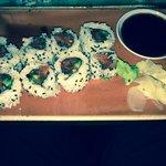 Tuna Sushi...Also Ordered Salmon Sushi