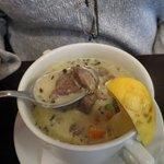 Takony lamb soup - very good!