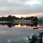 Early morning at the lake.