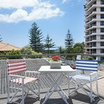 Enjoy the views of the Pacific Ocean in the One Bedroom Apartment - upstairs