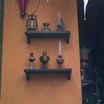 Museum and Restaurant Oil Lamp
