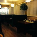 Restaurant booths, Albert's Bistro  |  2000 Highland Avenue, Brandon, Manitoba