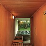 Inside Sauna
