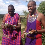 Moses and Manfred, Maasai Guides
