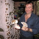 Antonio and his famous mushrooms
