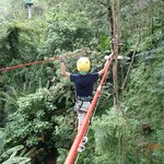 Safe tight rope crossing
