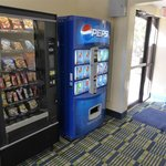 Vending Machines nos Corredores