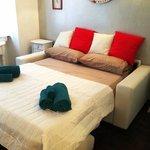 Camera da letto di una Suite