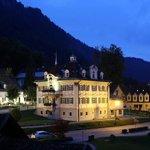 Вид на Schlosshotel Lisl