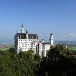 Вид на замок Нойшванштайн