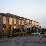 The hotel and Mill Restaurant