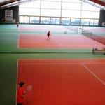 Tennis-Halle
