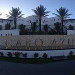 New front of resort