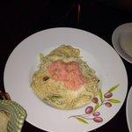Creamy Salmon Spaghetti