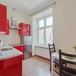 Kitchen in Victoria apartment