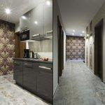 Hallway/kitchen Lubelska aparthotel