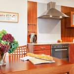 Kitchen in Davos apartment