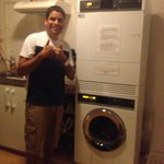 Máquinas de lavar e secar roupas - Quebrou um galhão!