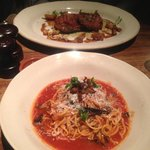 Vlees lekker, spaghetti smakeloos