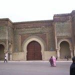 La porta di accesso all'intricata Medina di Fès.